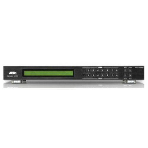 Matrice-scaler Aten VM5808D dvi 8 x 8 ports audio / video