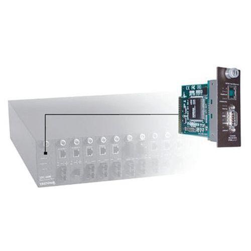 Module SNMP pour châssis fibre optique Trendnet TFC-1600MM