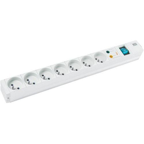 Multiprise 19'' avec 7 prises interrupteur et parasurtenseur
