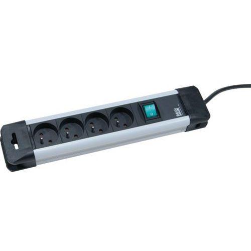Multiprise 330.100F 4 prises avec interrupteur