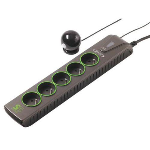 Multiprise S5 ECO TV SENSOR coupe-veille 5 prises détecteur