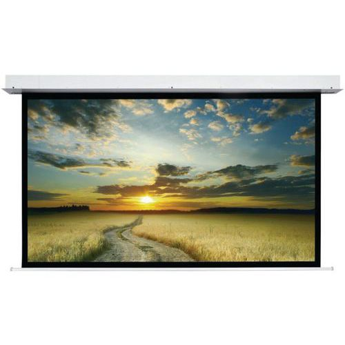 Ecran électr encastr pour faux-plafond integra 4:3 340 x 258