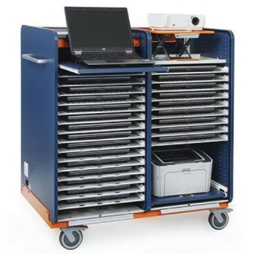 Armoire de rangement pour 16 PC portables et 1 PC prof - Manutan.fr