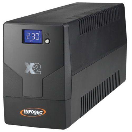 Onduleur X2 LCD TOUCH 500 VA