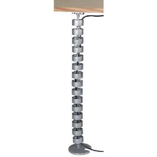 Organiseur de câbles vertical de 820 mm -  Alu 34202