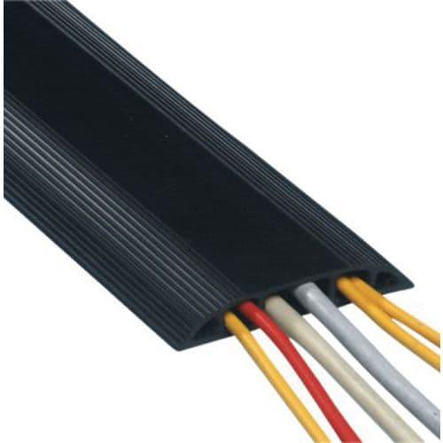 Passage de Câbles plancher 3.0m Noir