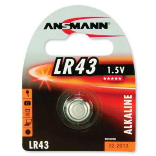 Pile alcaline 5015293 LR43