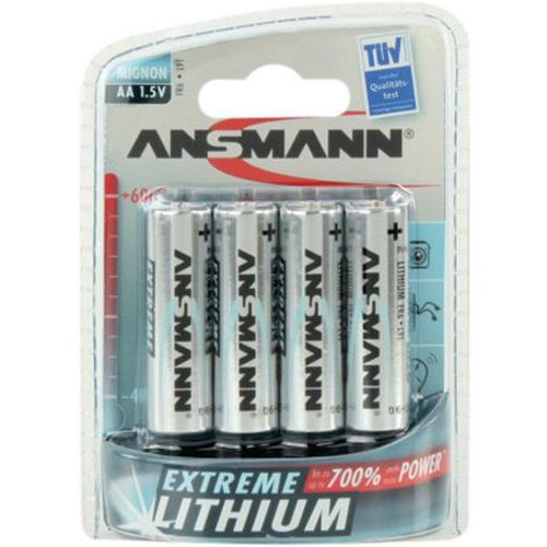 Piles lithium 1512-0002 FR06 / AA