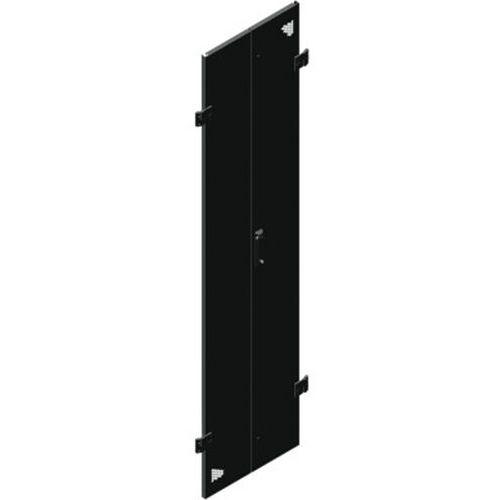 Porte double perforée 24U larg 800 (monte AR)
