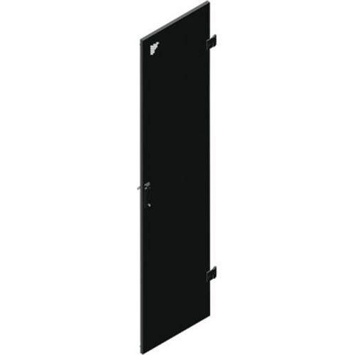 Porte simple perforée 42U larg 600 (monte AV)
