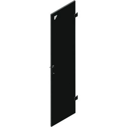 Porte simple perforée 42U larg 800 (monte AV)