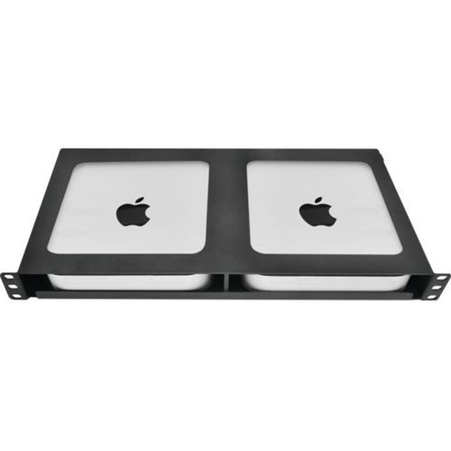 Rack 19 mac mini serveur securisé 1U 2 baies