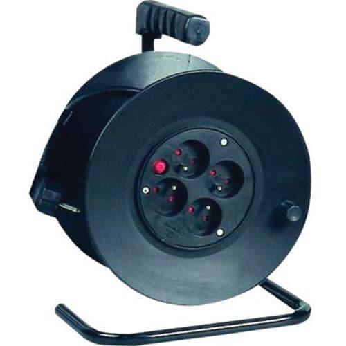 Rallonge électrique protégée 25 m - 4 prises