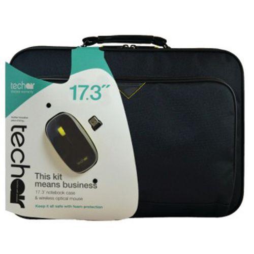 Sacoche ordinateur portable et Souris -17.3'' Noir Techair