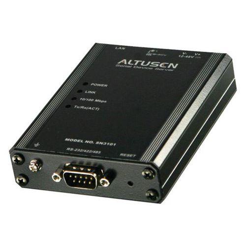 Serveur de port Série ATEN SN3101 RS-232/422/485 DB9 OVER IP