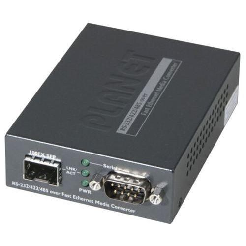 Serveur serie RS232/422/485 sur ip fibre SFP 100FX