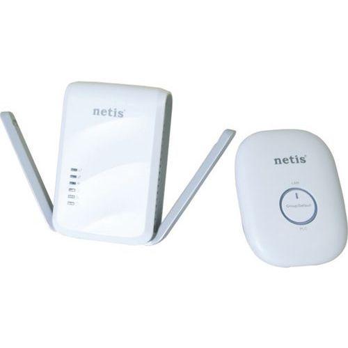 Set CPLl AV600 et récepteur CPL/WiFi 300Mbps Netis PL7622KIT