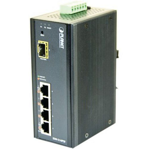 Smart Switch indust 4 ports poe et 1 sfp 100FX