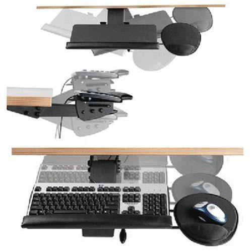 Support clavier articulé et retractable 97513