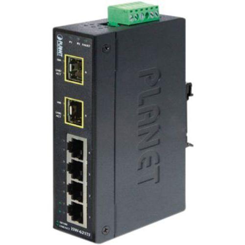 Switch industriel 4P 10/100 et 2 sfp 100FX (-40/+75°C)