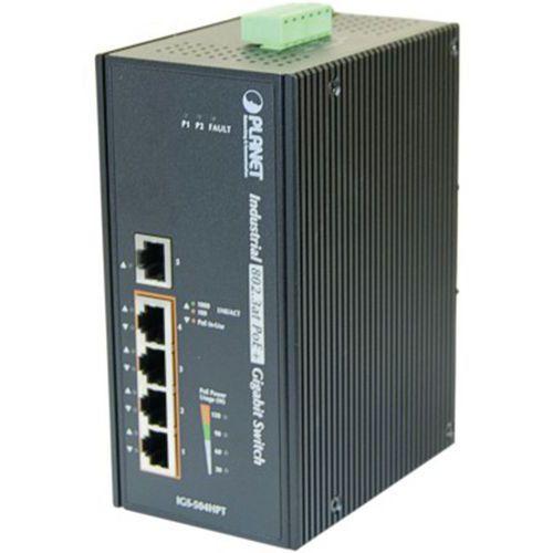 Switch industriel 5P gigabit dont 4 PoE+