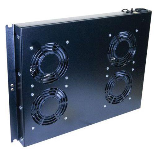 Unité 19 4 ventilateurs pour baie réseau et baie serveur