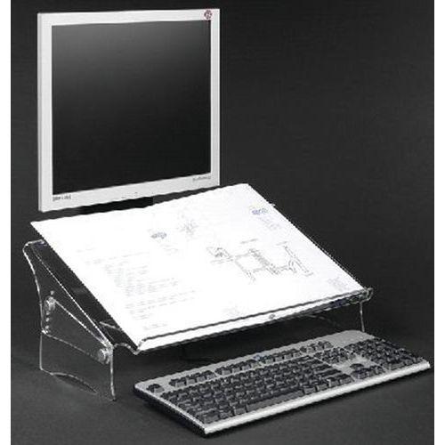 Porte copie/doc. Acrylique - Hauteur réglable 49410