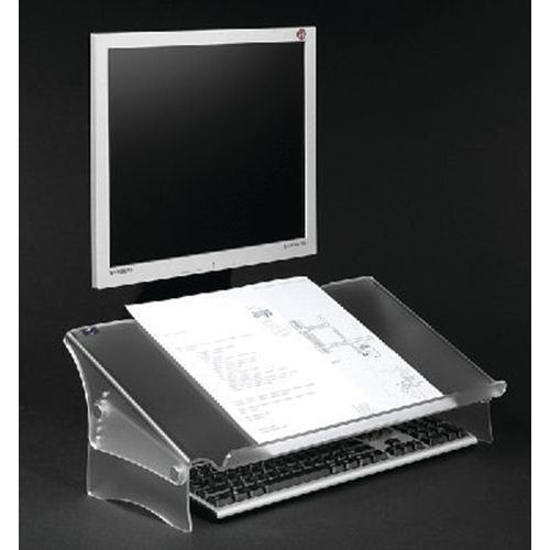Porte copie/doc. Acrylique - Hauteur réglable 49411