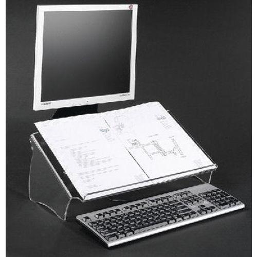 Porte copie/document Acrylique - Hauteur fixe 44410