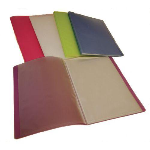 Protège-documents polypropylène 60 vues A4 assortis - Lot de 10