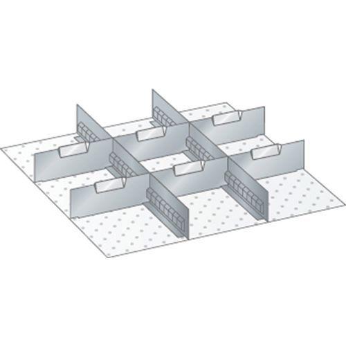 Kit matériel subdivision 27x27E (LxPxH) 459x459x250mm-lista