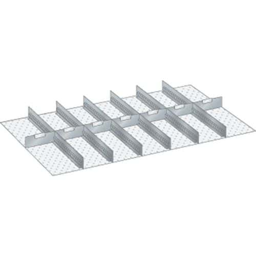 Kit matériel subdivision 64x36E (LxPxH) 1088x612x150mm-lista