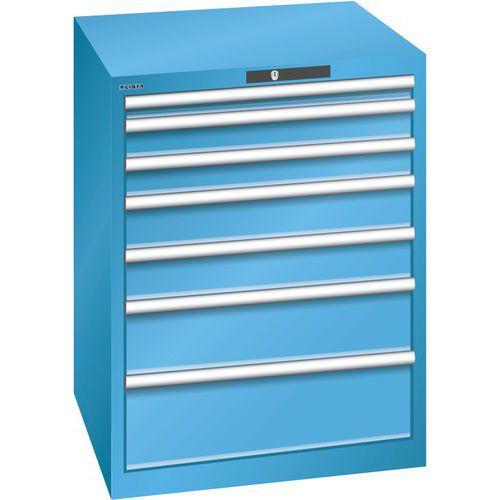 Armoire Bleu Clair 717x725x850 Avec 7 Tir. 75kg _ 78.640.010