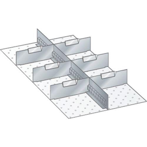 Kit matériel subdivision 18x36E (LxPxH) 306x612x150mm-lista