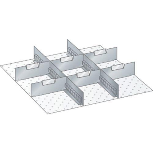 Kit matériel subdivision 27x27E (LxPxH) 459x459x200mm-lista