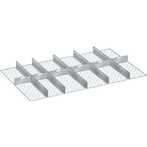 Kit matériel subdivision 64x36E (LxPxH) 1088x612x75mm-lista