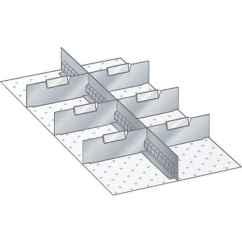 Kit matériel subdivision 18x36E (LxPxH) 306x612x300mm-lista