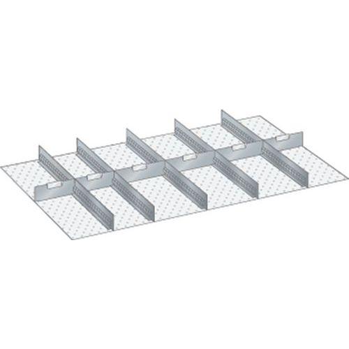 Kit matériel subdivision 64x36E (LxPxH) 1088x612x100mm-lista