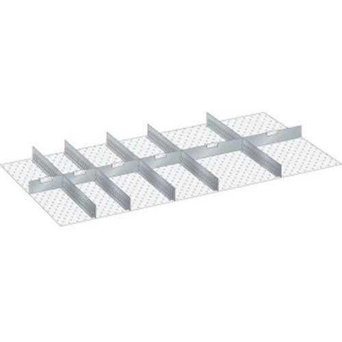 Kit matériel subdivision 78x36E (LxPxH) 1326x612x150mm-lista