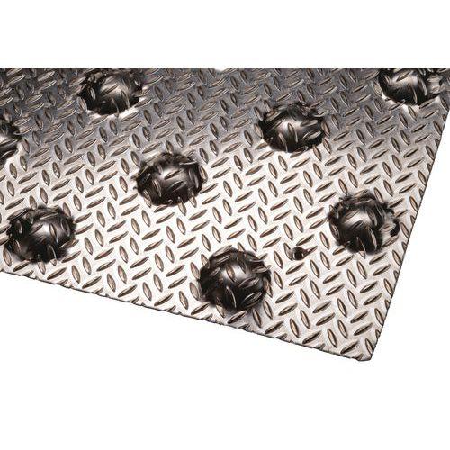 Dalle podotactile aluminium larmée - À visser