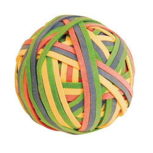 Balle de 200 bracelets caoutchouc - Coloris assortis