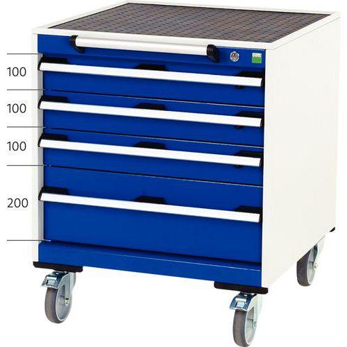Armoire à tiroirs mobile Cubio - Largeur 65 cm