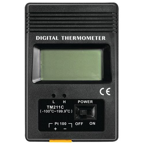 Thermomètre digital à sonde - Manutan