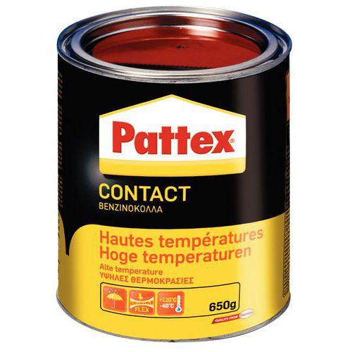 Colle contact haute température