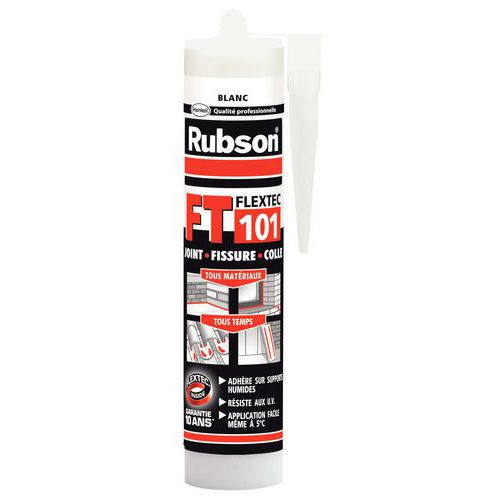 Mastic spécial supports humides FT 101 - Blanc