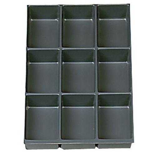 Organiseur De Tiroir En Plastique 4 9 Et 16 Compartiments M