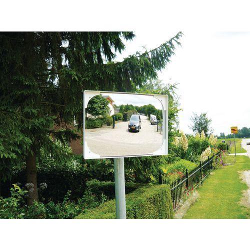 Miroir de sécurité - Vision 90° - Orientation jusqu'à 30°- Rectangle