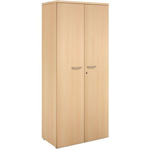 Armoire à portes battantes - Hêtre - Manutan