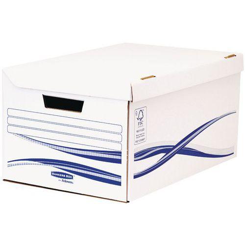 Conteneur pour boîtes d'archives Bankers Box Basic A4+