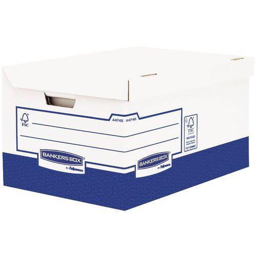 Conteneur pour boîtes d'archives Bankers Box Heavy Duty A4+